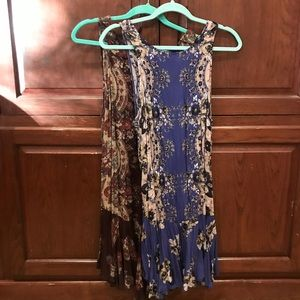 2 Free People slip dresses - both size small